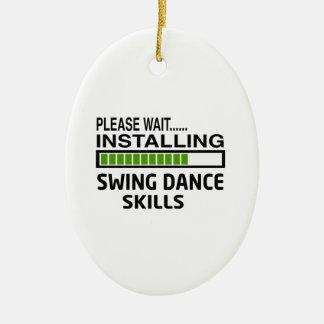 振動ダンスの技術を取付けること セラミックオーナメント