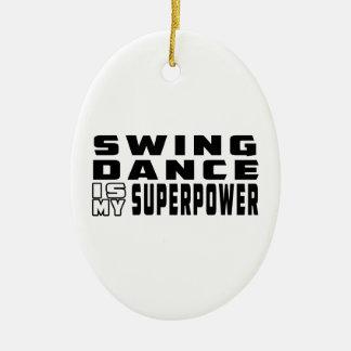 振動ダンスは私の超出力です セラミックオーナメント