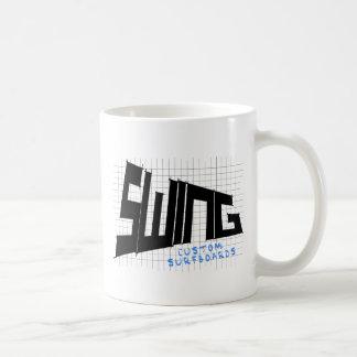 振動格子 コーヒーマグカップ