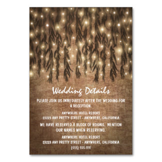挿入物カードを結婚するシダレヤナギの木のヴィンテージ カード