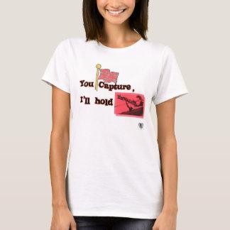 捕獲および把握 Tシャツ