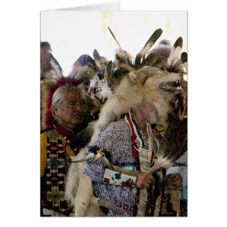捕虜のワウのオオカミ カード