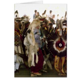 捕虜のワウのスネークダンス カード