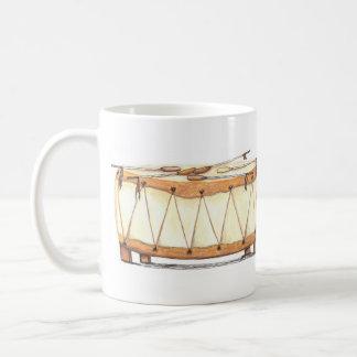捕虜のワウのドラム コーヒーマグカップ