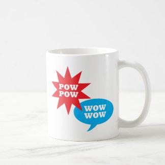 捕虜の捕虜のワウのワウ! コーヒーマグカップ