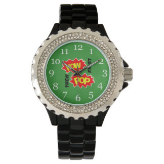 捕虜の破裂音 腕時計