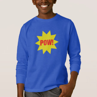 捕虜! スーパーヒーローの子供のTシャツ Tシャツ