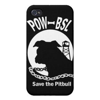 捕虜BSLはピットブル犬を救います iPhone 4/4S カバー
