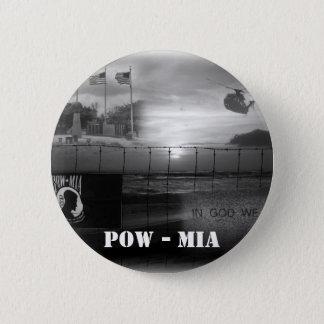 捕虜MIAの記念するボタン 5.7CM 丸型バッジ