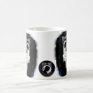 捕虜MIA コーヒーマグカップ