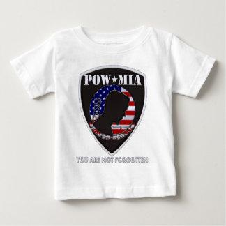 捕虜MIA -盾 ベビーTシャツ