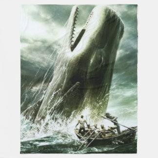 捕鯨フリースブランケット フリースブランケット