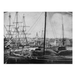 捕鯨港、ニューベッドフォード ポストカード