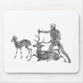 捜される-骨組カモシカおよび雄鹿 マウスパッド