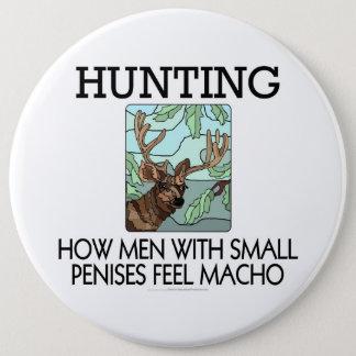 捜すこと。 小さい陰茎を搭載する人がたくましい男性をいかに感じるか 15.2CM 丸型バッジ