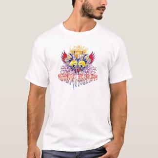 捜索及び大胆不敵(重金属) Tシャツ