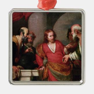 捧げ物のお金、c.1631 メタルオーナメント
