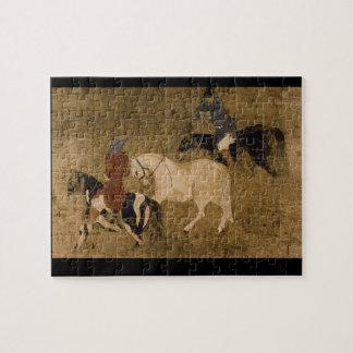 捧げ物Horses',の未知のartist_The東洋 ジグソーパズル