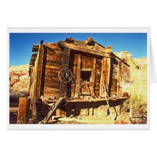 捨てられた掘っ建て小屋 カード