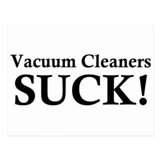 掃除機は吸います ポストカード