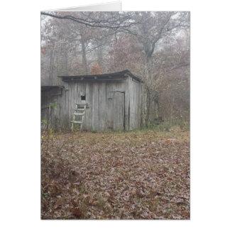 掘っ建て小屋 カード