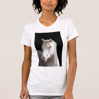 掘り出し上手のアメリカのバシキールの巻き毛の子馬 Tシャツ