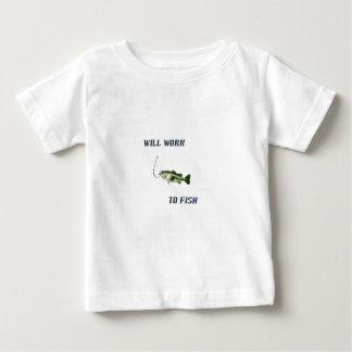 採取するために働きます ベビーTシャツ