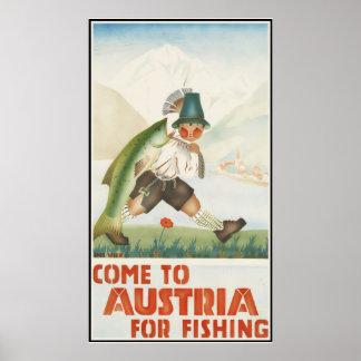 採取のためのオーストリアに来られる ポスター