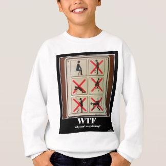 採取WTF無し スウェットシャツ
