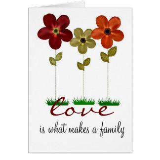 採用家族カード カード