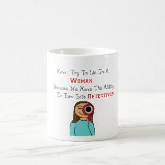 探偵として女性 コーヒーマグカップ