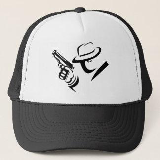 探偵のギャングのトラック運転手の帽子 キャップ