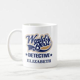 探偵の名前入りなマグのギフト コーヒーマグカップ