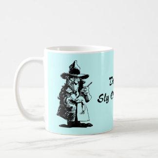 探偵の悪賢いOlのGumshoeの殺人事件推理小説の探偵 コーヒーマグカップ