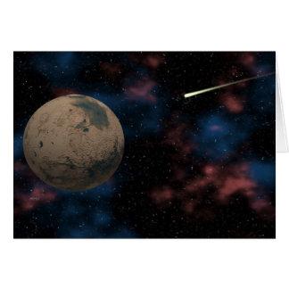 探検の惑星の火星 カード