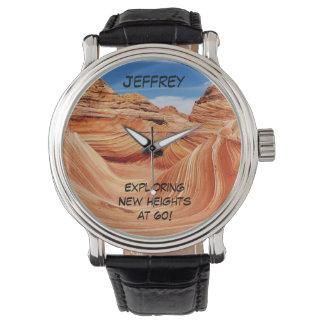 探検の新しい高さの腕時計、60歳 腕時計