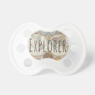 探検家の世界地図 おしゃぶり