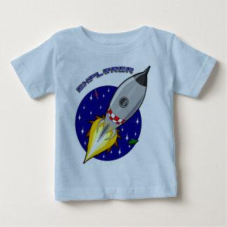 探検家 ベビーTシャツ