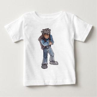 探鉱者のまばたき ベビーTシャツ