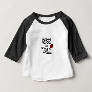 接吻し、言って下さい ベビーTシャツ