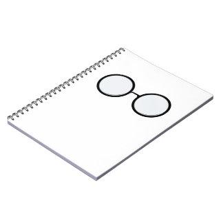 接眼レンズの写真のノート ノートブック