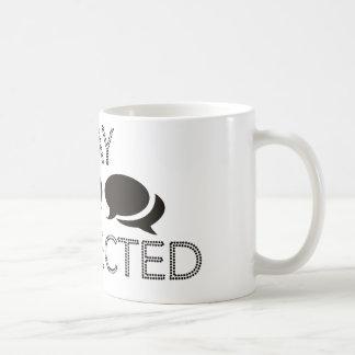 接続される滞在! コーヒーマグカップ