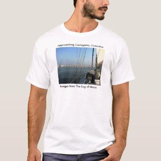 接近のカルタヘナ、コロンビア Tシャツ