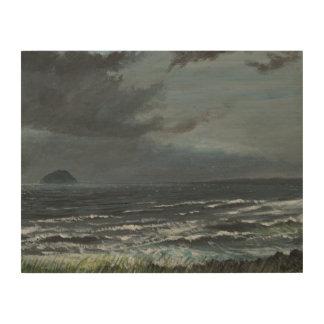 接近の嵐2007年 ウッドウォールアート