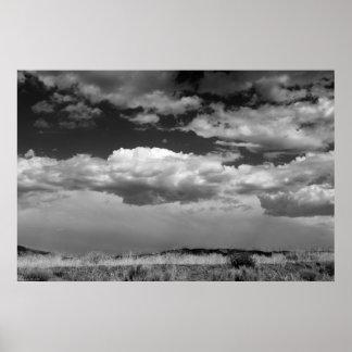 接近の嵐 ポスター
