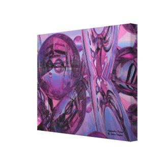 接近の運命の抽象的なキャンバスのプリントの壁の芸術 キャンバスプリント