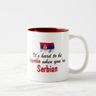 控え目なセルビア人 ツートーンマグカップ