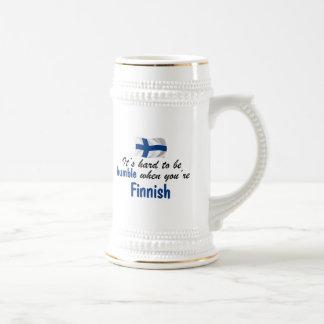 控え目なフィンランド ビールジョッキ
