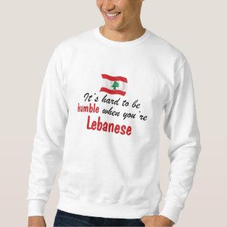 控え目なレバノン人 スウェットシャツ
