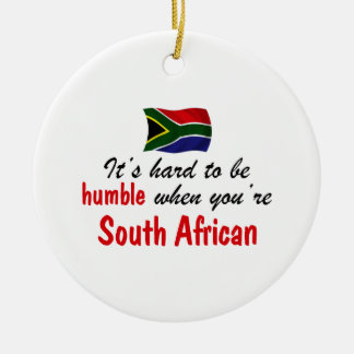 控え目な南アフリカ セラミックオーナメント